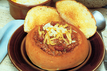 Bridgford Bread And Roll Dough Chili Bowls Bridgford