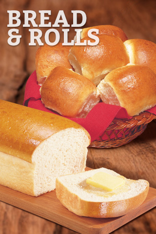 Bread, Rolls and Sandwiches